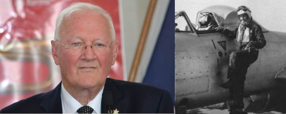 Lloyd Knight, former RAAF Meteor pilot with 45 missions over North Korea
