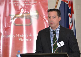 Michael Kelly, History Section, Australian War Memorial