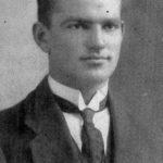 Brendan Calcutt. Studio Portrait taken in 1914