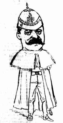 Red Force – Lieutenant-Colonel J M Templeton 1888 [23]