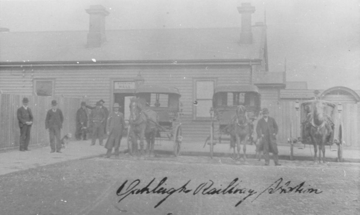 Oakleigh Railway Station c1880s [5]