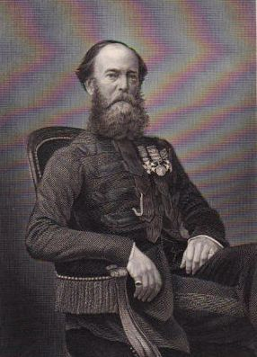 The Governor's guest, General J S Brownrigg [11]
