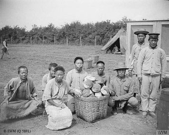 Bread making crew 1918.