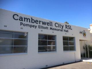 Camberwell City RSL taken Feb 2015