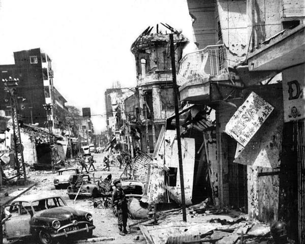 NVA/VC Destruction in Cholon, Tet 1968