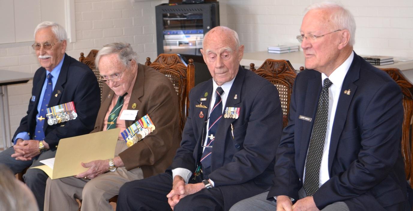 Ron Christie, Victor Dey, Stan Goldsmith and Lloyd Knight