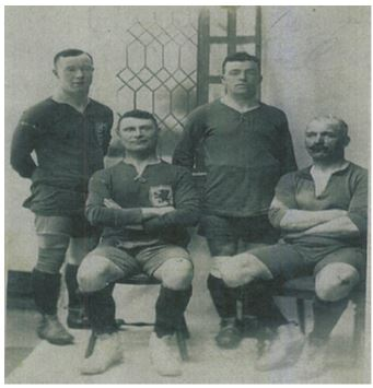 Edward Keenan on right, seated Keenan Family Collection