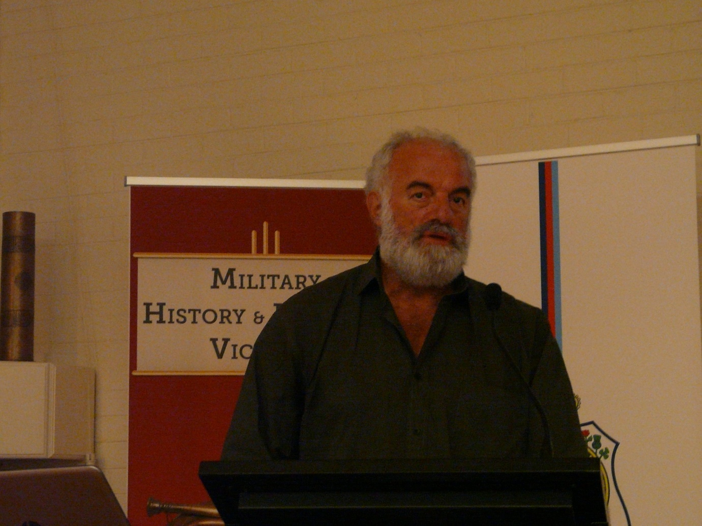 Lambis Englezos presenting at the MHHV