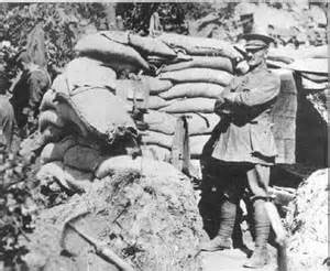 Lieutenant-Colonel William Malone (1859-1915) outside his bivouac on Walker's Ridge. Malone would lead his men into battle at Chunuk Bair where he would lose his life.