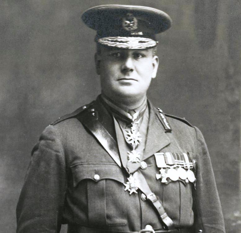Major General Harold Edward Elliott, CB, CMG, DSO, DCM, VD.