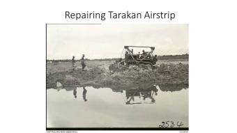 Repairing Tarakan Airstrip