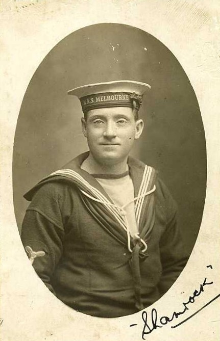 'Shamrock' - a HMAS Melbourne stoker - Perryman