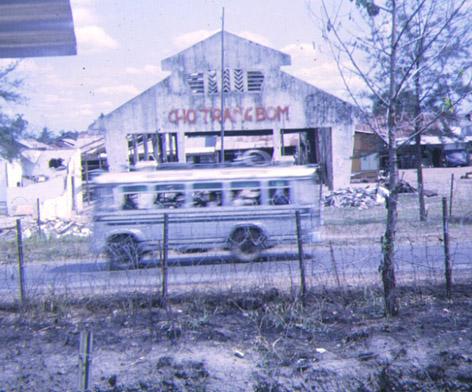 TRANG BOM MARKET AFTER TET 1968 Photo: Nick Quigley