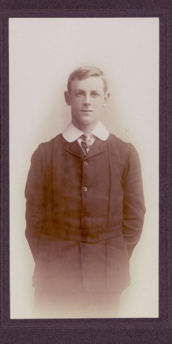 W H C Lyle Buntine as a Student